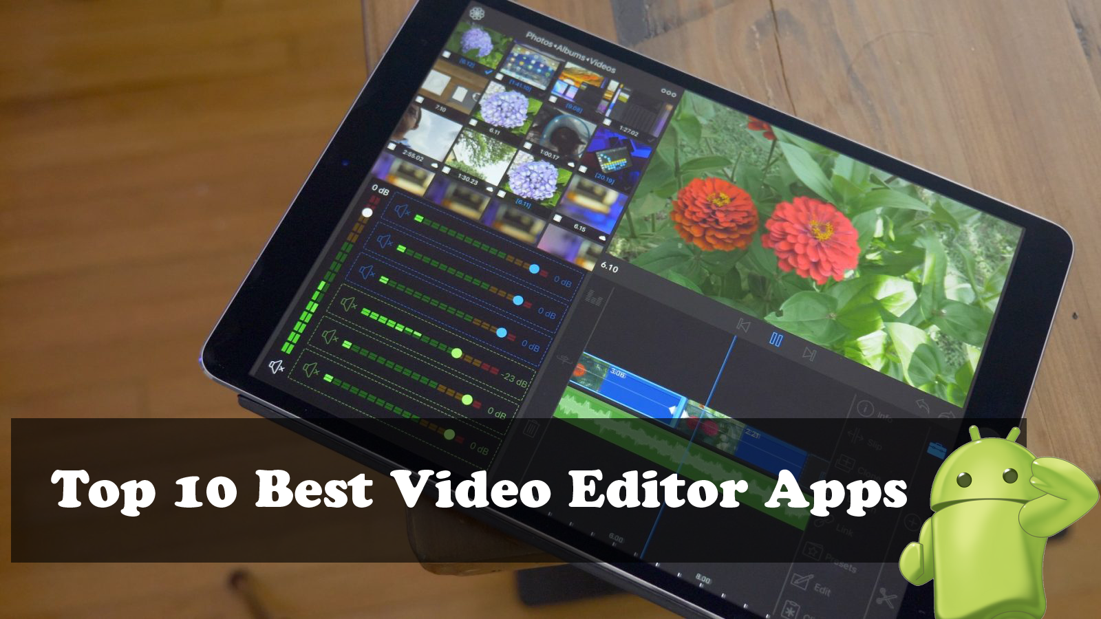 Top 10 Best Video Editor Apps For Android » Onroid